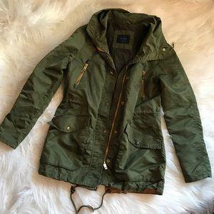 Zara basic army jacket